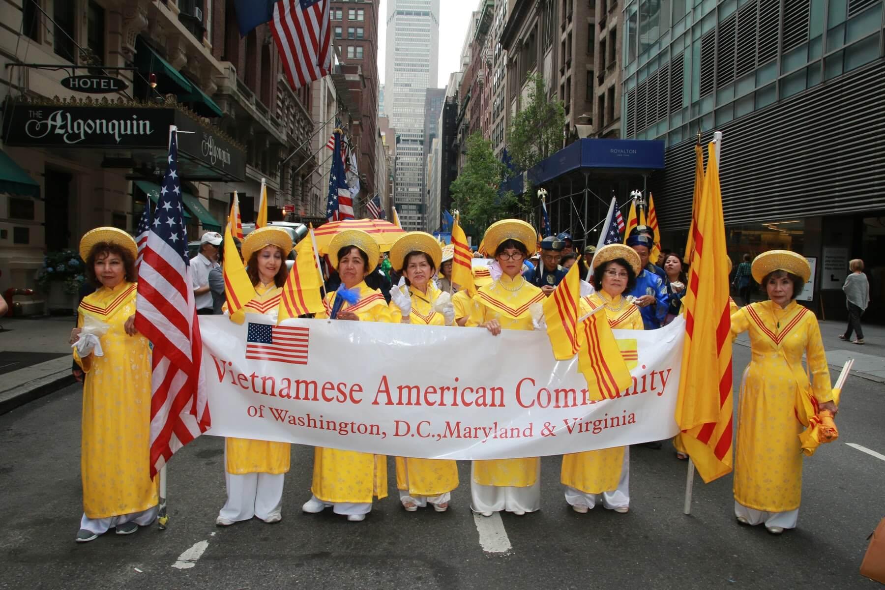 Hình ảnh Diễn Hành Ngày Văn Hóa Quốc Tế 2017 tại New York