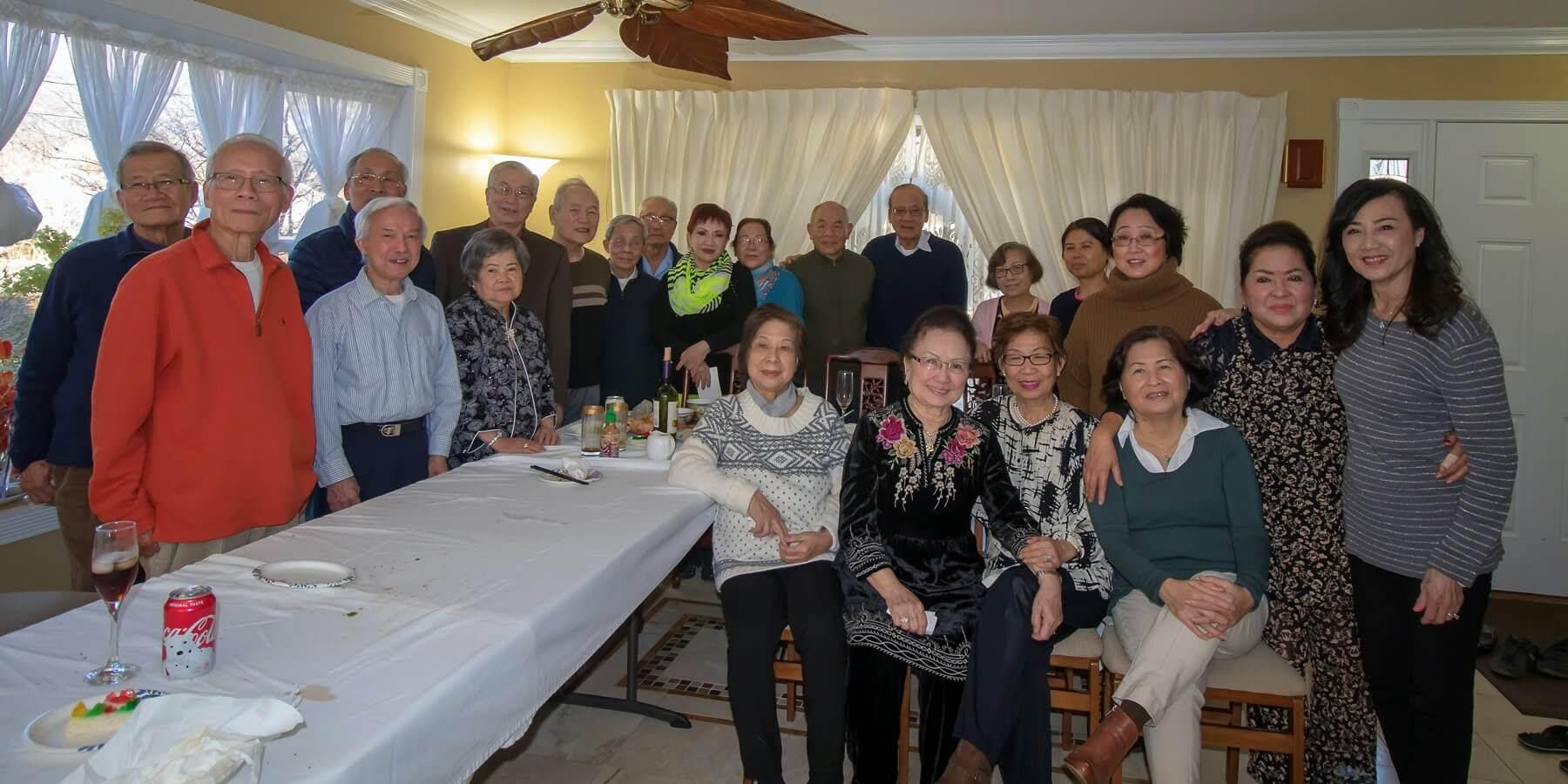 Hội Ngộ tại tư gia Anh Chị Trần Hồng 13/01/2018