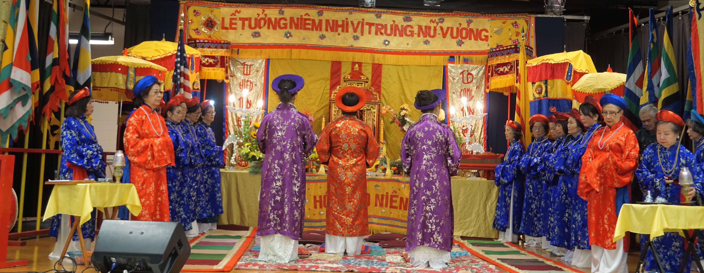 Lễ Tưởng Niệm Nhị VỊ Trưng Nữ Vương 2018